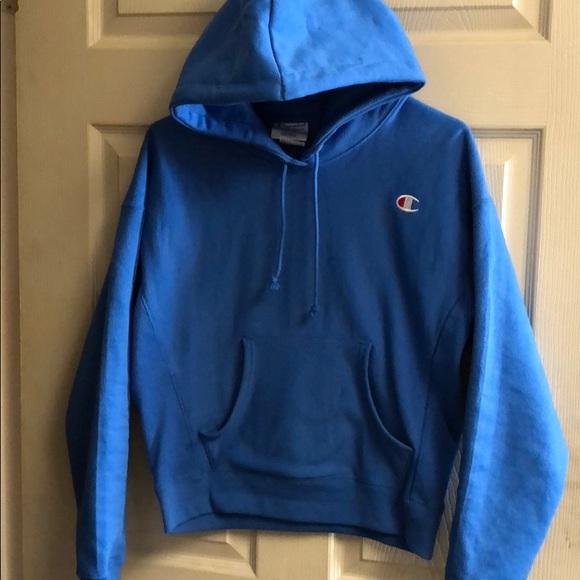 3d5da0309a99 Blue Champion hoodie